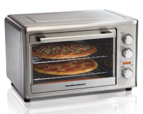 Hamilton Beach Countertop Oven, Large, Silver (31103)
