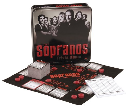 Cardinal Industries The Sopranos Trivia Game by