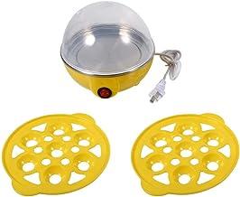 Cuiseur à vapeur - 220 V multifonctionnel Double couche électrique oeufs chaudière cuiseur vapeur utilisation de la cuisin...