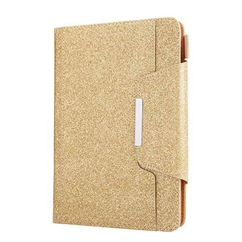 JIan Ying - Funda para tablet de 10 pulgadas, con soporte para tarjetas universal de 9 a 10,1 pulgadas, color dorado