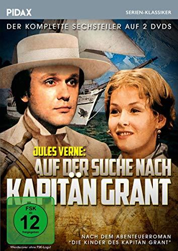 Jules Verne: Auf der Suche nach Kapitän Grant / Der komplette 6-Teiler nach dem Abenteuerroman Die Kinder des Kapitän Grant (Pidax Serien-Klassiker) [2 DVDs]