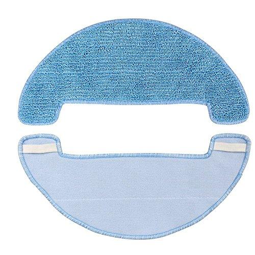 Kit de paño de limpieza húmedo para aspiradora Robotizada Coredy R550, R580, R750, G800