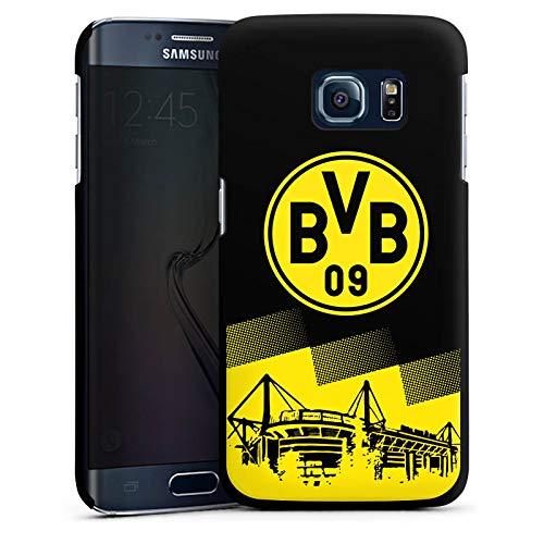 DeinDesign Hülle kompatibel mit Samsung Galaxy S6 Edge Handyhülle Case BVB Borussia Dortmund Stadion