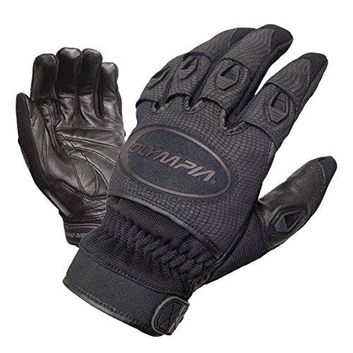 Olympia Sports Men's Ventor Gloves (Black, Medium)