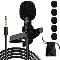 Ryqtop Professional Lavalier Noise Reduction Microphone