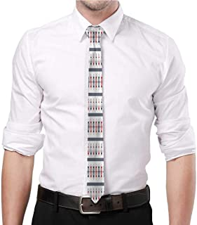 Men's printed tie African,Tribal Herringbone Great for work birthdays festivals Father's Day gifts