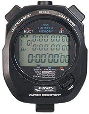Finis Memory Stopwatch 3x100 M, zwart, één maat