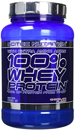 Scitec Nutrition 100% Whey Protein Powder - 920 g, Chocolate