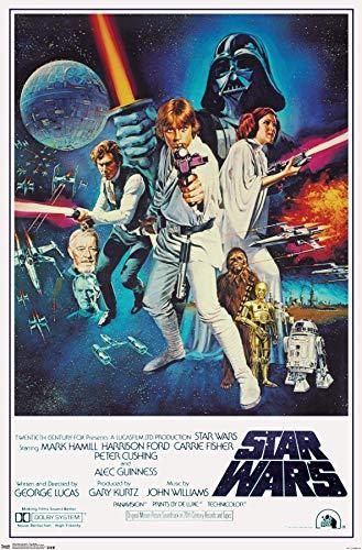 Poster di Star Wars Movie 38 cm x 58 cm (380 mm x 580 mm)