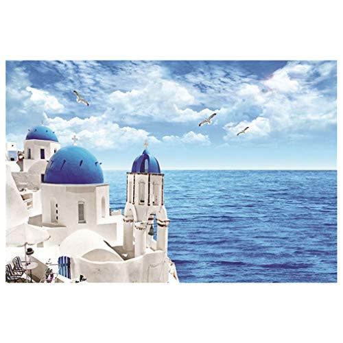 Jigsaw Puzzles 1000 PCS - Aegean Sea, Juego Educativo Educativo de descompresión Intelectual para niños Adultos