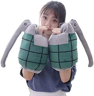 FJMM Japanese Anime My Hero Academia Plush Pillows Cos Asui Tsuyu Hold Doll Toys Stuffed Prop 2pcs