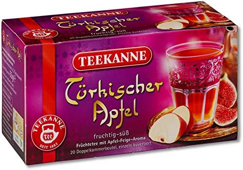 TEEKANNE vruchtenthee Turkse appel, zakje gebufferd, 20 x 2,75 g (20 stuks), je ontvangt 1 verpakking à 20 stuks