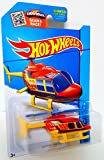 Hot Wheels 2015 HW City Propper Chopper Helicopter 52/250, Red and Yellow