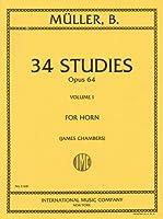 ミュラー: ホルンのための34 の練習曲集 Op.64 第1巻/インターナショナル・ミュージック社