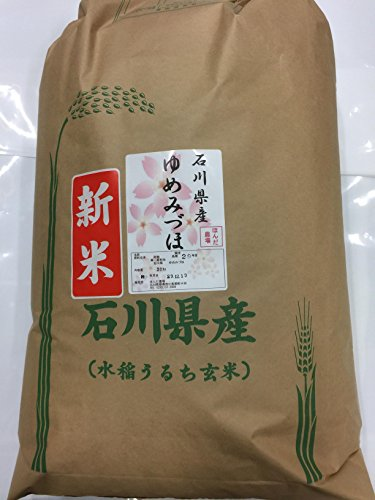 令和元年度産 石川県産 加賀厳選米 ゆめみずほ 白米 (30kg)
