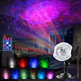 ALOVECO LED Laser Christmas Projector Lights, 2-in-1 RGBW 10 Color Changing...