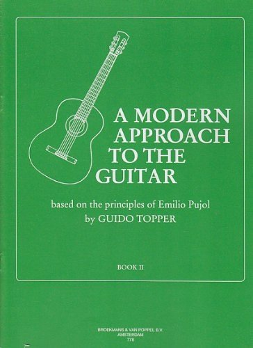 BROEKMANS & VAN POPPEL B.V. TOPPER GUIDO - A MODERN APPROACH TO THE GUITAR VOL.2 Theorie und Pedagogik Akustikgitarren
