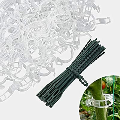 Dreamtop Plant Support Clips, 200 Pcs Branch Cl...