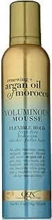 Ogx Argan Oil Of Morocco Voluminous Mousse Med Hold 8 Ounce (235ml) (2 Pack)