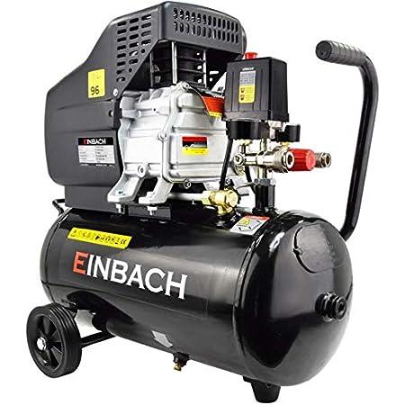 Einbach Luftkompressor Druckluft Aggregat 2 8kw M Öl Kompressor 50 L Kessel 230v Sicherheitsventil 2x Schnellkupplung 2x Manometer Ölschmierung Langlebig 8 Bar Druckminderer Baumarkt