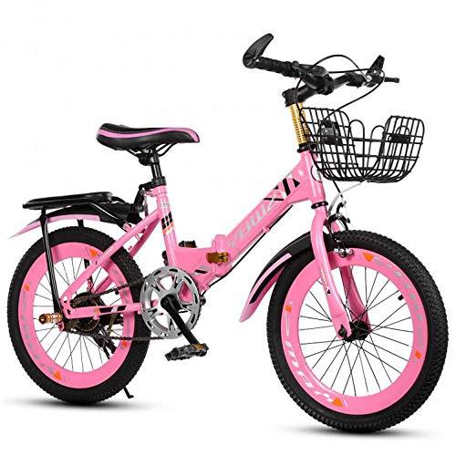 TANGT - Bicicleta infantil con ruedas de entrenamiento para niños y niñas...