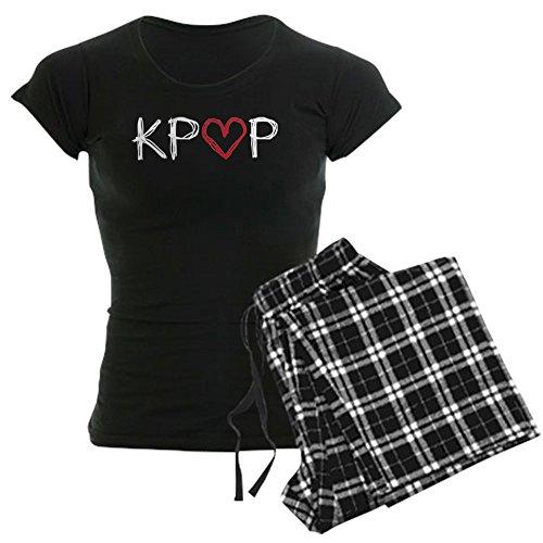 CafePress Kpop Love Scribble Womens Novelty Cotton Pajama Set, Comfortable PJ Sleepwear