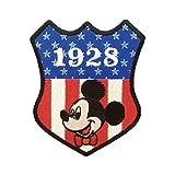 ディズニー ワッペン ミッキーマウス ボウタイ APDS2736