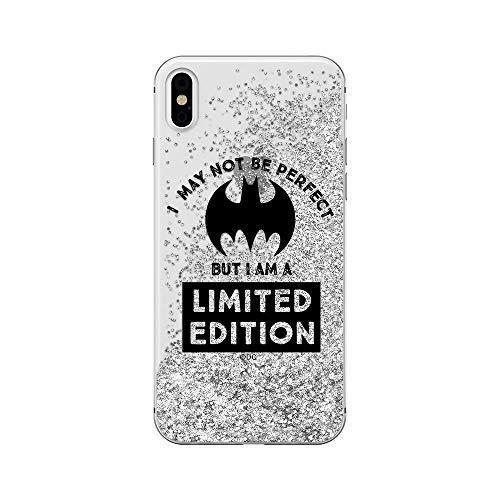 Estuche para iPhone X/XS DC Bat Girl, Original con Licencia Oficial, Carcasa,...