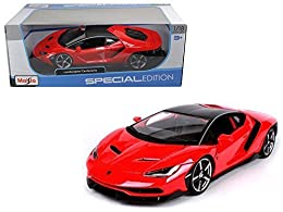 NEW 1:18 W/B MAISTO SPECIAL EDITION COLLECTION By Maisto Scale: 1:18 DieCast Metal With Some Plastic Parts Rubber Tires & Detailed Interior Brand New Box LAMBORGHINI CENTENARIO