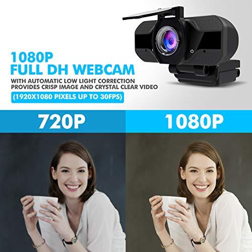 GUORUI W760 HD Webcam mit Abdeckblende