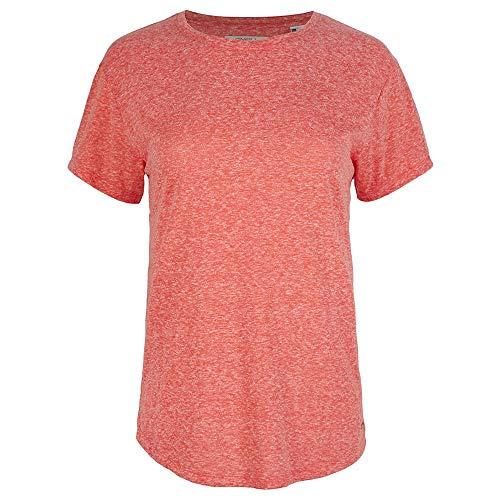 O'NEILL Camiseta de Manga Corta Essentials XS de Female-Adult, Camiseta, 1A7324, Coral, Extra-Small