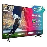 Hisense UHD TV 2020 43AE7000F - Smart TV Resolución 4K con Alexa integrada,...