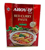 Aroy-D Pasta de Curry Roja 12x50g -1 Caja De 12 Unidades