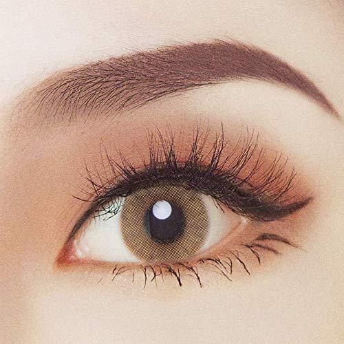 Braune Kontaktlinsen