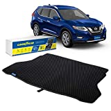 Goodyear Custom Fit Cargo Mat Liner for Nissan Rogue 2014-2020 - Heavy Duty Trunk Liner, Dimond Shape, Luggage with Waterproof, Liquid & Dirt Trapping Technology - Anti-Slip Cargo Liner-GY004521