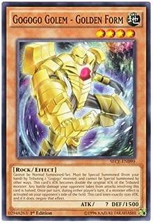 Yu-Gi-Oh! English Version SECE-EN 090 Gogogo Golem - Golden Form Gogogo Golem-GF (Normal) 1st Edition