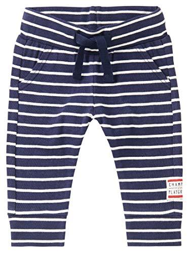 Noppies Baby-Jungen B Slim fit Pants Soweto STR Hose, Peacoat-P590, 80