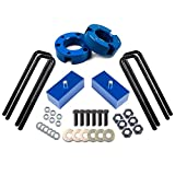 ECCPP Leveling Lift Kit Raise your vehicle 3' Front+2' Rear...