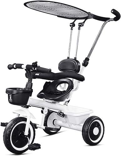 nueva marca Trikes para Niños Niños Niños con Solid Tire.3-in-1 para 6 Meses a 6 años Triciclo para Niños y niñas con toldo  a precios asequibles