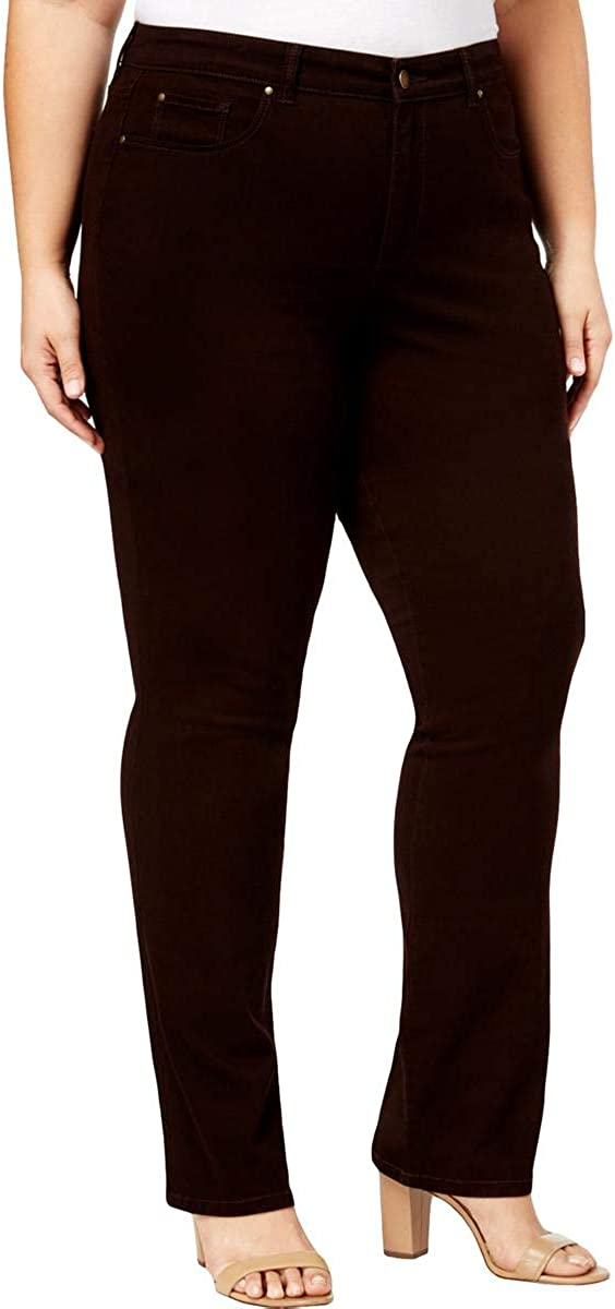 Charter Club Womens Lexington Straight Leg Jeans