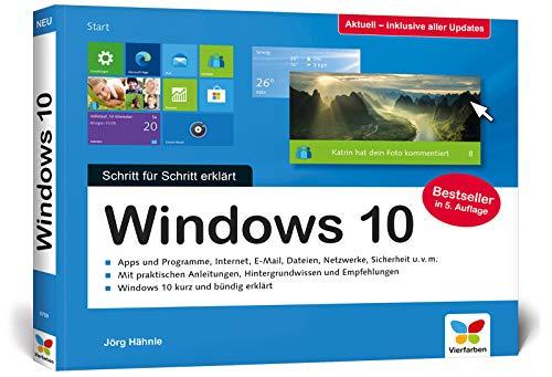 Windows 10: Schritt für Schritt erklärt. Das Handbuch im praktischen Querformat. Komplett in Farbe. Aktuell inkl. Frühjahrs-Update 2020.