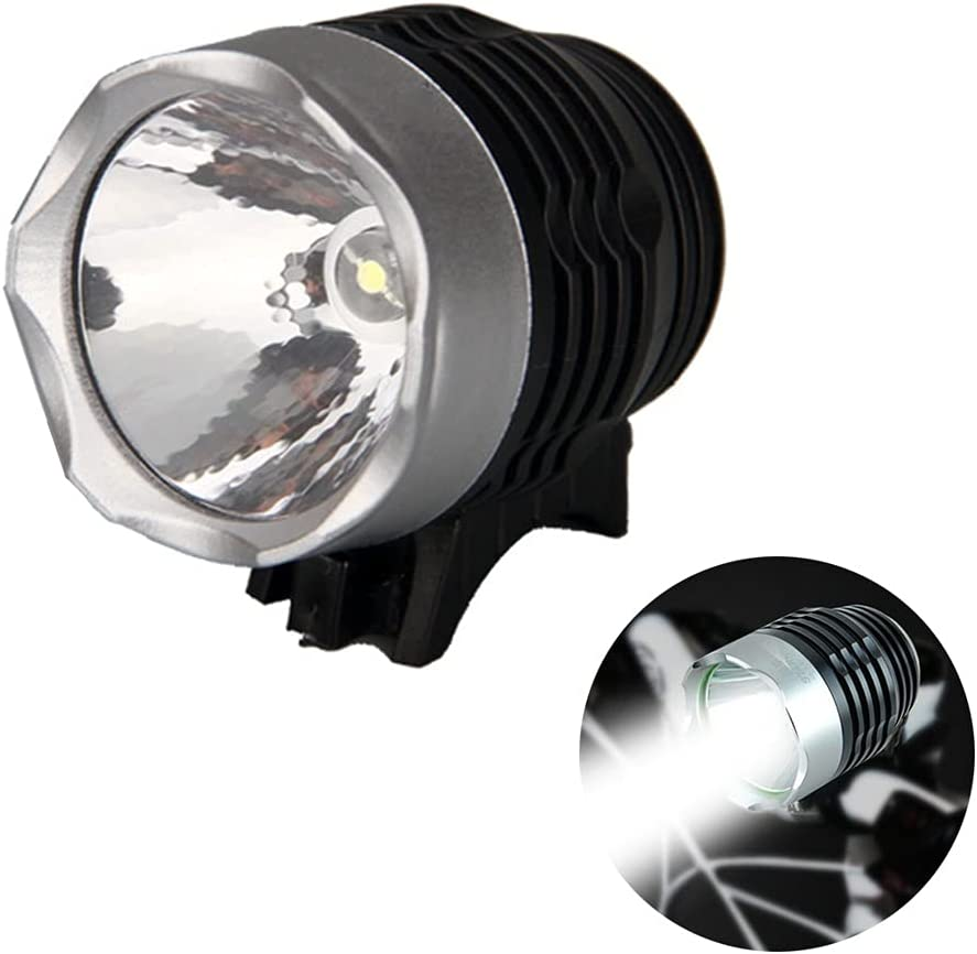 Store TJK Very popular! Cycle Headlamp Super Bright L Bicycle Battery Waterproof LED