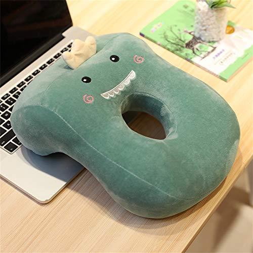Nickerchen Kissen Büro Mittagspause Kissen Liegend Kissen Student Schreibtisch Schlafkissen Cartoon Liegend Schlafkissen (Blaugrün (Dinosaurier))
