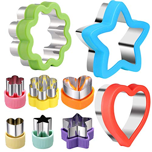 Cutter Shapes Set Different Sizes Cookie Cutters Set Fruit Cookie Pastry Stamps Mold