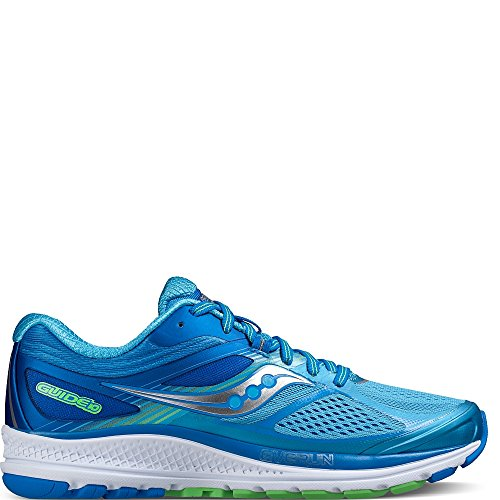 Saucony Women's Guide 10 Running Shoe, Light Blue | Blue, 8 M US