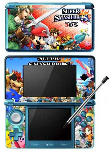 New Super Smash Bros 4 Dedication SSB4 Skin Game for 3DS Nintendo ...