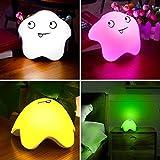 Luz Noche Bebé, Luz de Noche de Los Niños,7 Color Cambio con Toque Lámparas,...