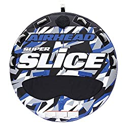 powerful Airhead Super Slice Tow Tube for 3 Drivers, Blue Camouflage, One Size (AHSSL-32)