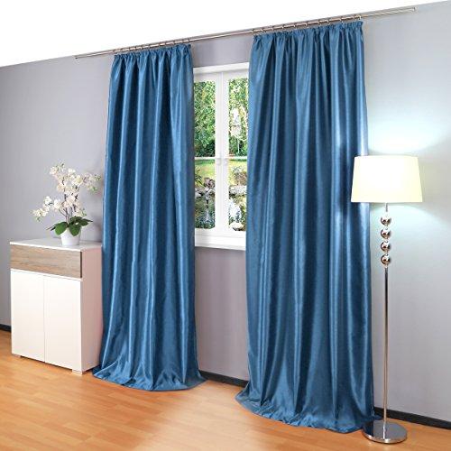 cortinas opacas 2 piezas 140x245