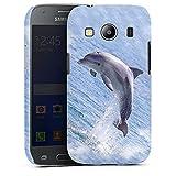 Premium Case kompatibel mit Samsung Galaxy Ace 4 Smartphone